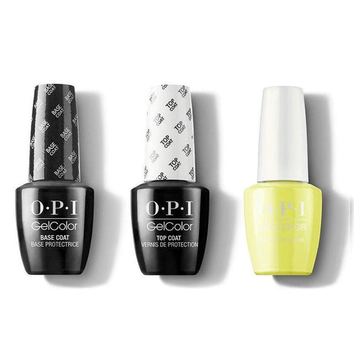 OPI - GelColor Combo - Base, Top & PUMP Up the Volume