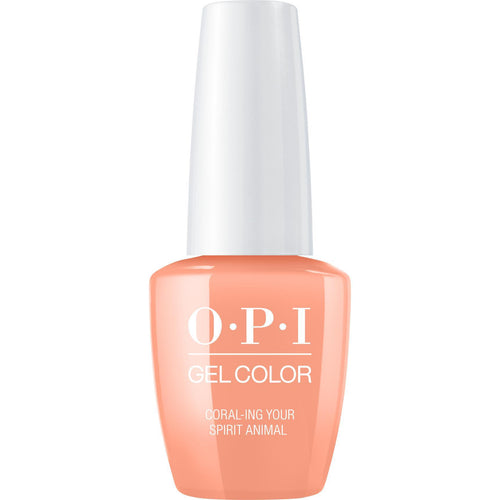 OPI GelColor - Coral-ing Your Spirit Animal 0.5 oz - #GCM88
