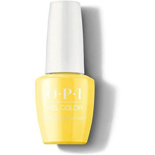 OPI GelColor - Exotic Birds Do Not Tweet 0.5 oz - #GCF91