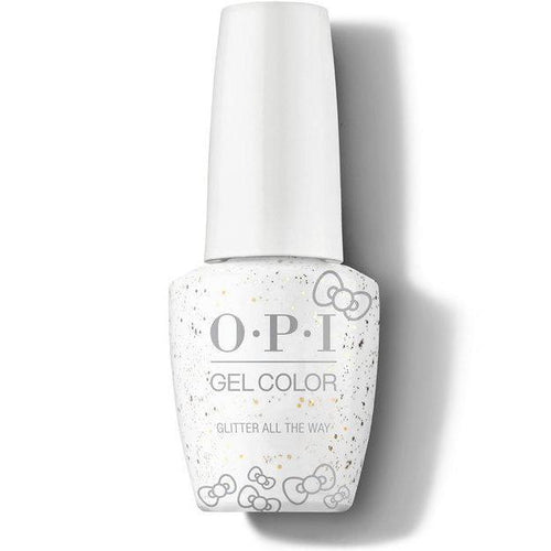 OPI GelColor - Glitter All The Way 0.5 oz - #HPL12