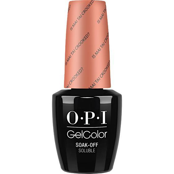 OPI GelColor - Is Mai Tai Crooked? 0.5 oz - #GCH68