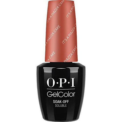 OPI GelColor- It's a Piazza Cake 0.5 oz - #GCV26 (Original Bottle Design)