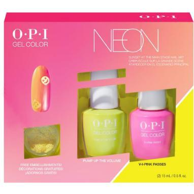 OPI GelColor - Neons GelColor Nail Art Duo Pack
