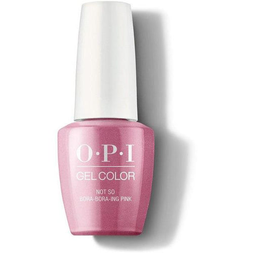 OPI GelColor - Not So Bora-Bora-ing Pink 0.5 oz - #GCS45