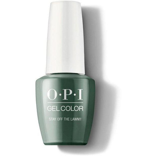 OPI GelColor - Stay Off the Lawn!! 0.5 oz - #GCW54