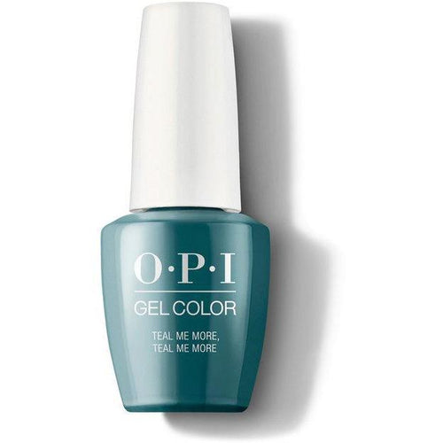 OPI GelColor - Teal Me More, Teal Me More 0.5 oz - #GCG45