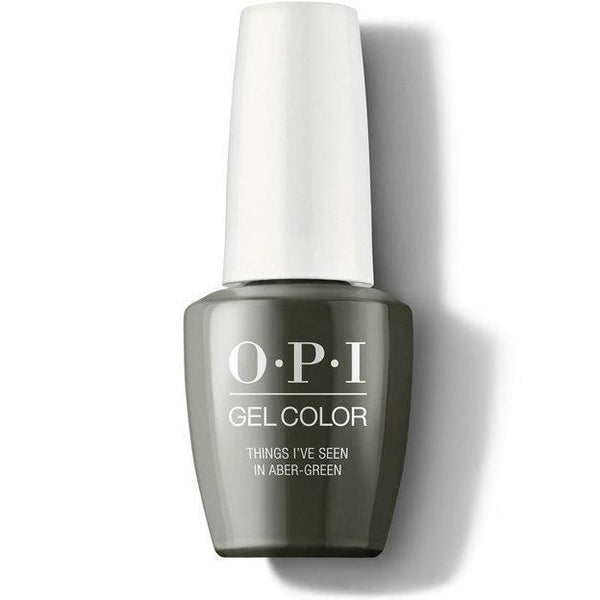 OPI GelColor - Things I've Seen In Aber-green 0.5 oz - #GCU15