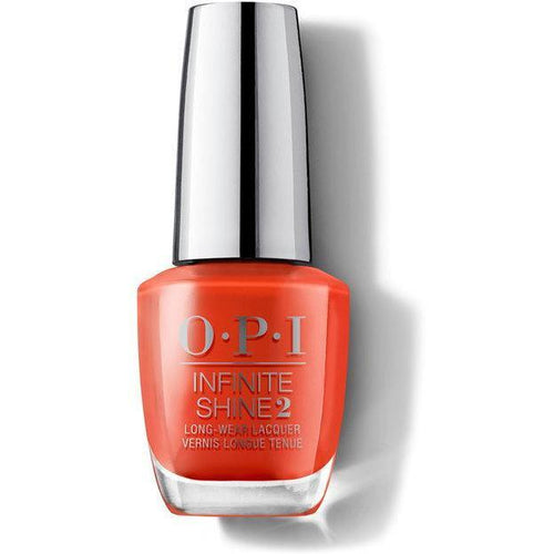 OPI Infinite Shine - A Red-vival City 0.5 oz - #ISLL22