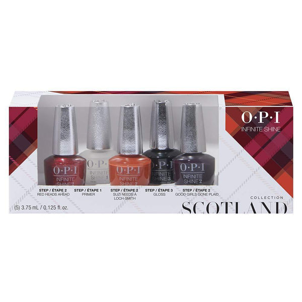 OPI Infinite Shine - Scotland Infinite Shine 5PC Mini Pack