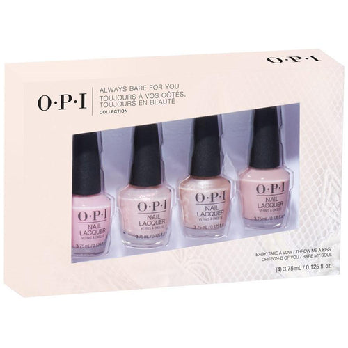 OPI Nail Lacquer - Always Bare For You Mini 4 Pack - #DDS35
