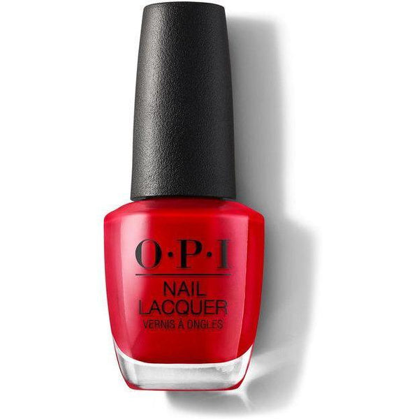 OPI Nail Lacquer - Big Apple Red 0.5 oz - #NLN25