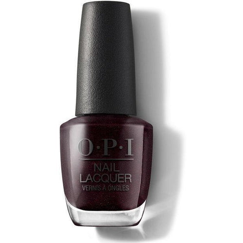 OPI Nail Lacquer - Black To Reality 0.5 oz - #NLHRK12