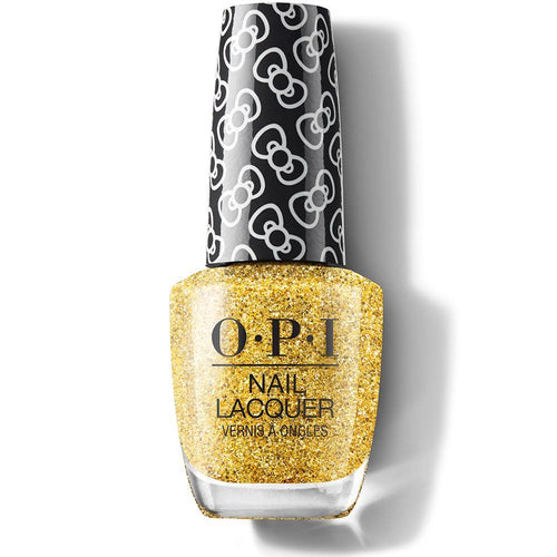 OPI Nail Lacquer - Glitter All The Way 0.5 oz - #HRL12