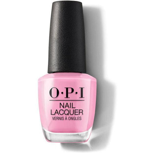 OPI Nail Lacquer - Leather Electryfyin' Pink 0.5 oz - #NLG54