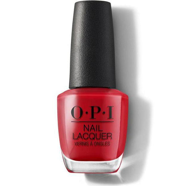 OPI Nail Lacquer - Red Heads Ahead 0.5 oz - #NLU13