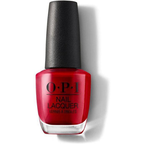 OPI Nail Lacquer - Red Hot Rio 0.5 oz - #NLA70