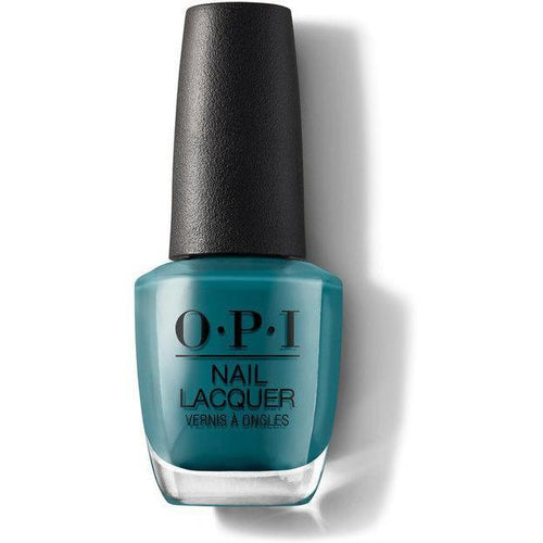 OPI Nail Lacquer - Teal Me More, Teal Me More 0.5 oz - #NLG45
