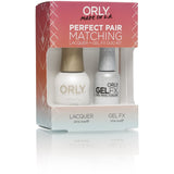 Orly Perfect Pair Lacquer & GELFX - White Tips - #31100