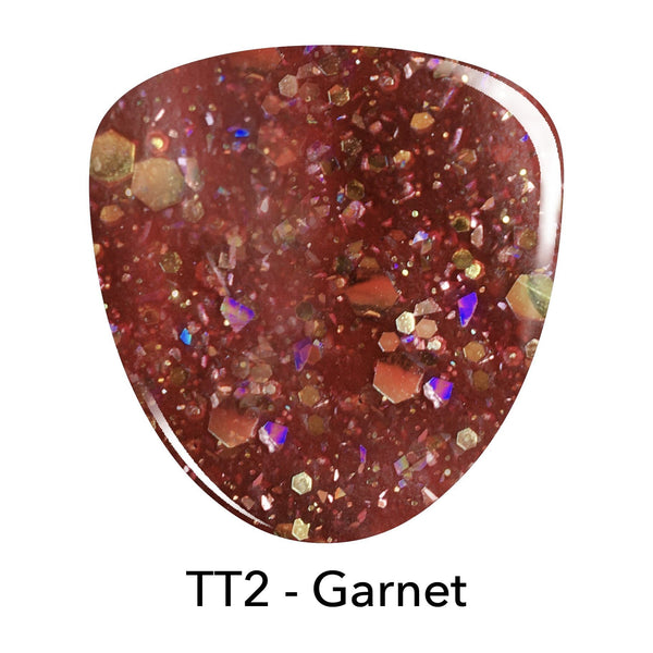 Revel Nail - Dip Powder Garnet 2 oz - #TT2