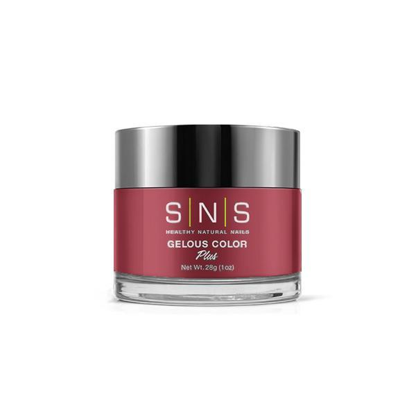 SNS Dipping Powder - Crimson Ribbon 1 oz - #BOS04