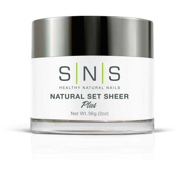 SNS Dipping Powder - Natural Set Sheer 2 oz