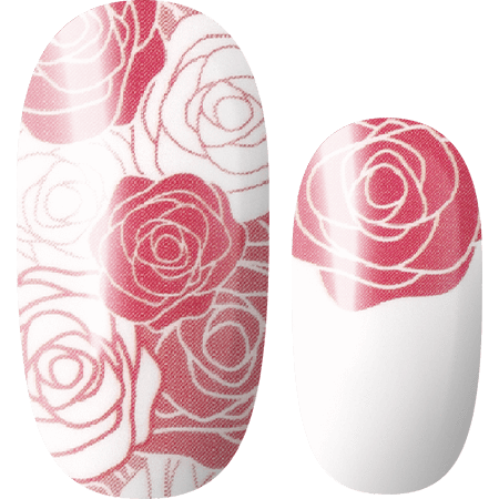Lily and Fox - Nail Wrap - Blushing Blossoms #T0164