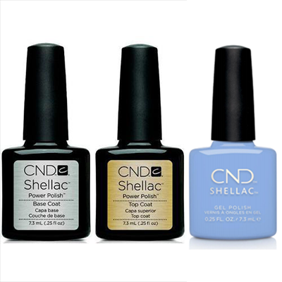 CND - Shellac Combo - Base, Top & Chance Taker