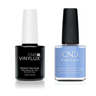 CND - Vinylux Topcoat & Chance Taker 0.5 oz - #372