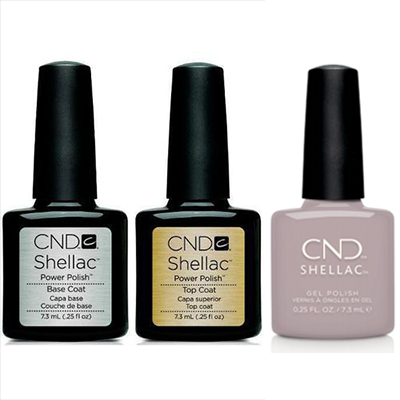 CND - Shellac Combo - Base, Top & Change Sparker