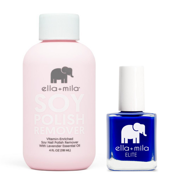 ella+mila - Soy Polish Remover & Bags are Packed - .45oz