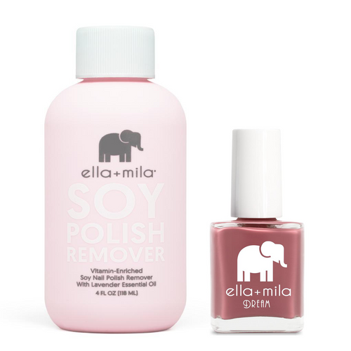 ella+mila - Soy Polish Remover & Time for a Bond Fire - .45oz