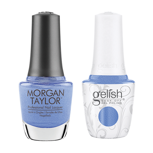 Gelish & Morgan Taylor Combo - Keepin' It Cool