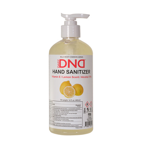DND - Hand Sanitizer Gel Lemon 16 oz