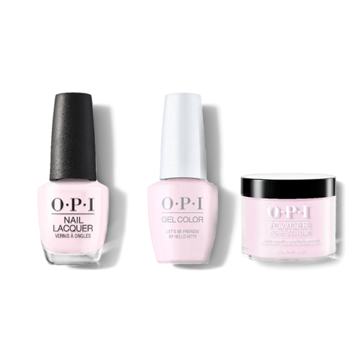 OPI - Gel, Lacquer & Dip Combo - Let's Be Friends