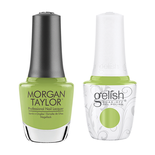 Gelish & Morgan Taylor Combo - Into The Lime-light