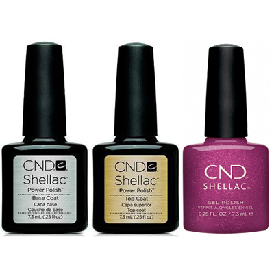 CND - Shellac Combo - Base, Top & Drama Queen