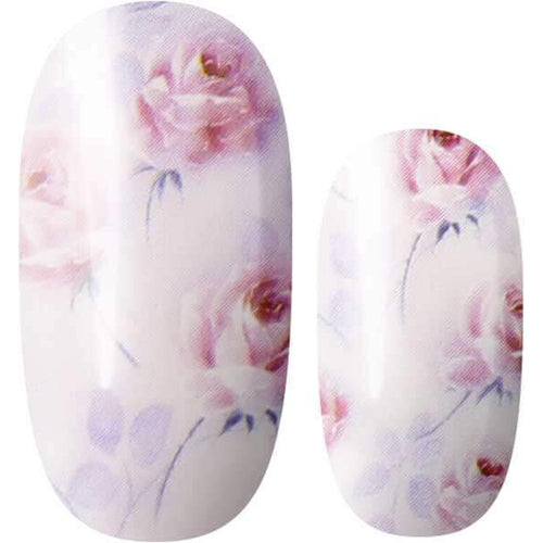 Lily and Fox - Nail Wrap - Peony Bliss #A0278