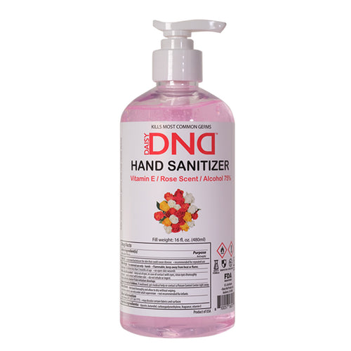 DND - Hand Sanitizer Gel Rose 16 oz