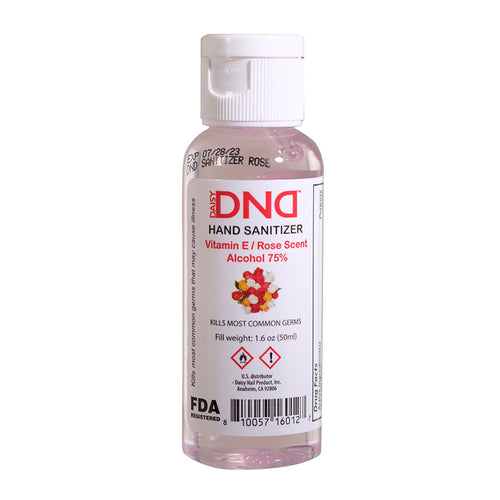 DND - Hand Sanitizer Gel Rose 1.6 oz