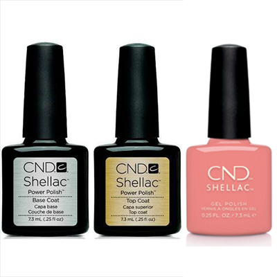 CND - Shellac Combo - Base, Top & Rule Breaker