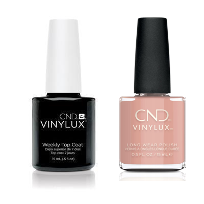 CND - Vinylux Topcoat & Self-Lover 0.5 oz - #370
