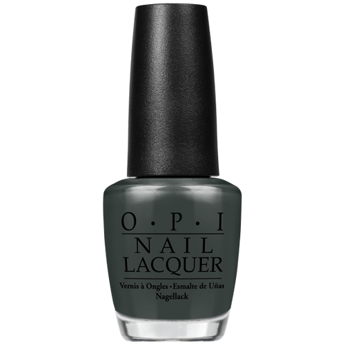 "OPI Nail Lacquer - ""Liv"" in the Gray 0.5 oz - #NLW66-Sleek Nail"