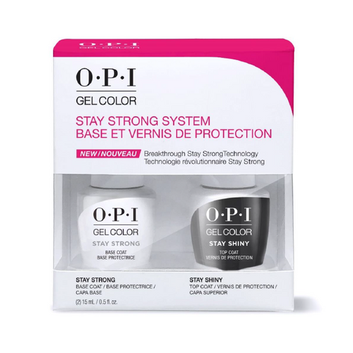 OPI GelColor - Stay Strong Duo Pack LIMITED EDITION - #SPK54