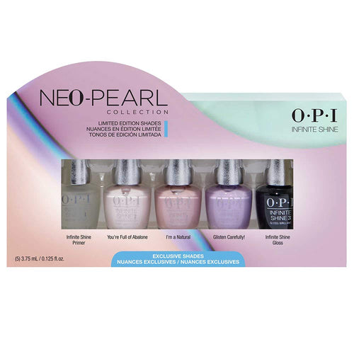 OPI Infinite Shine - Neo Pearl Infinite Shine 5PC Mini Pack