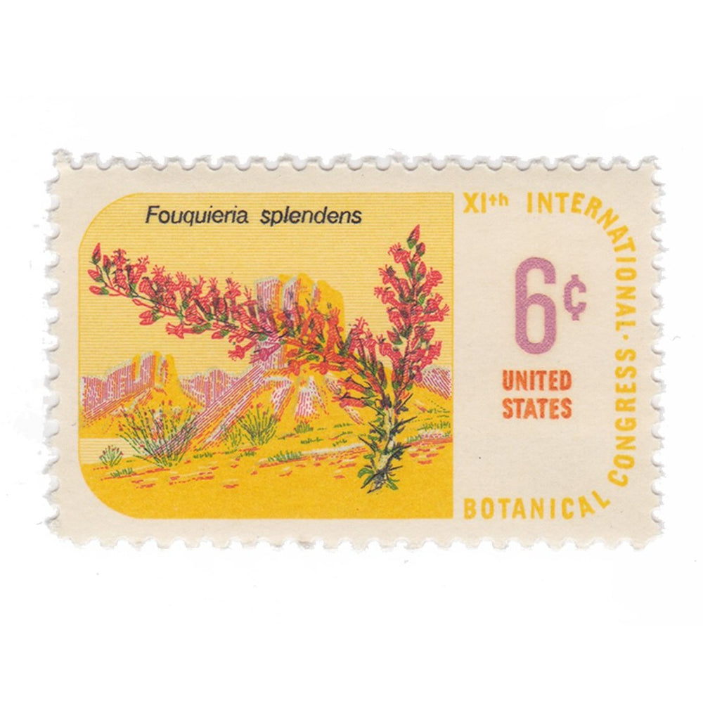 1969 6c Botanical Congress - Ocotillo