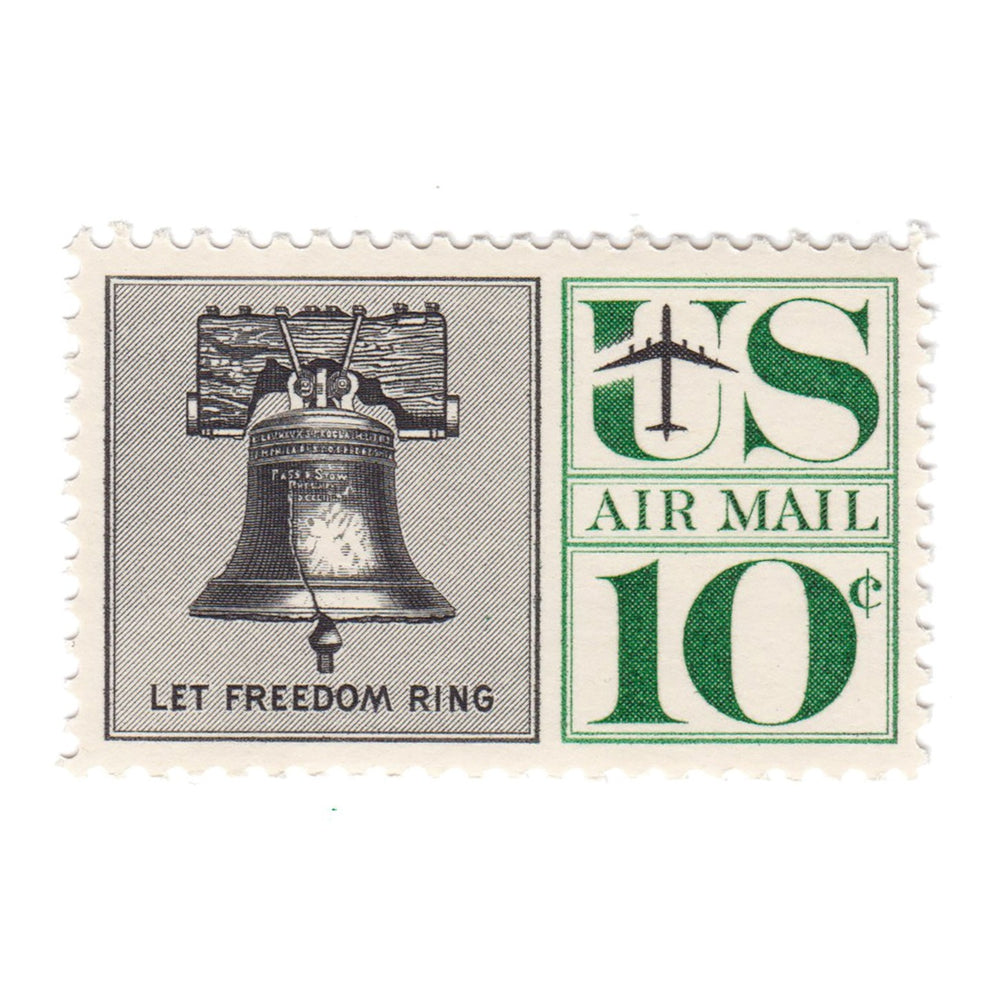 1967 10c Airmail Liberty Bell