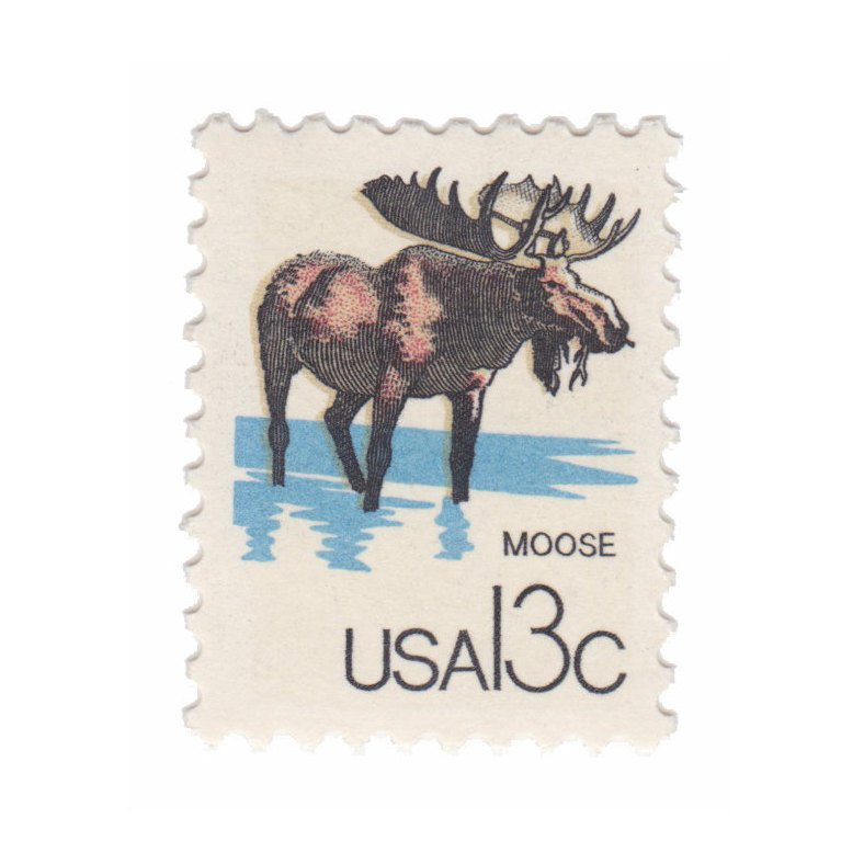 1978 Canadian Wildlife Series - 13c Moose