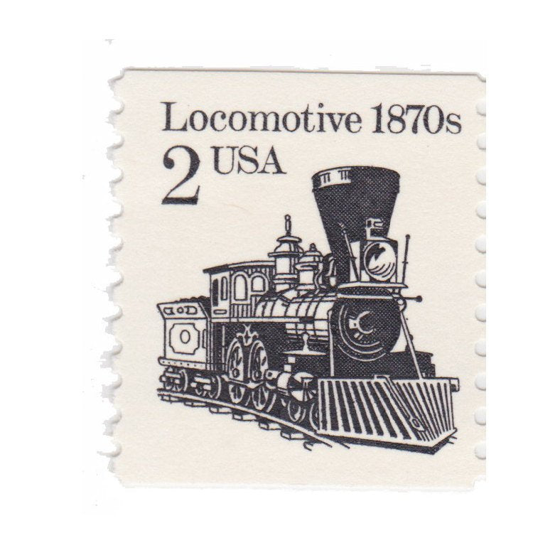 1987 2c Locomotive