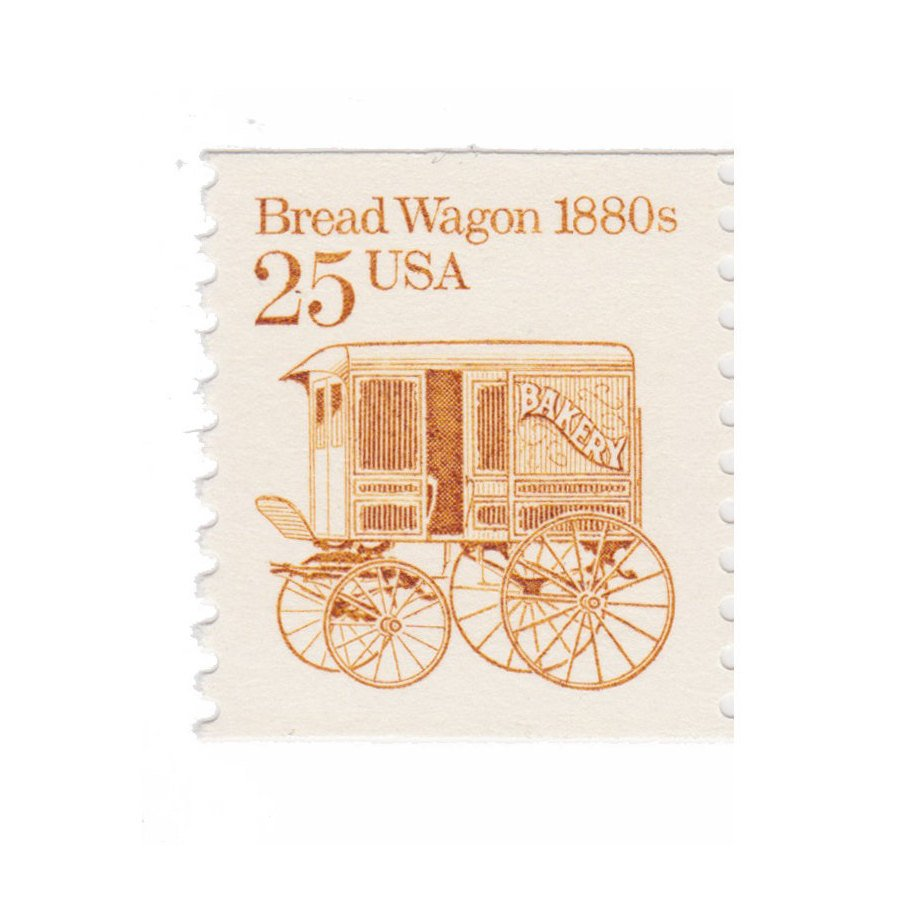 1986 25c Bread Wagon