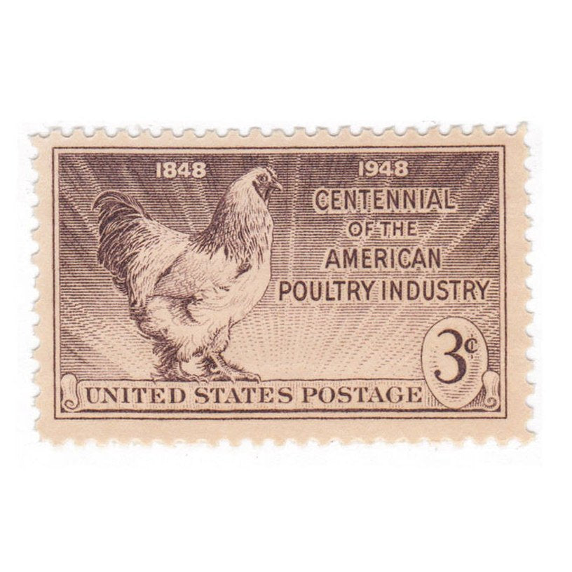 1948 3c Poultry Industry